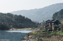 China,Drum Tower,Guizhou,Village