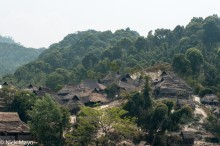 Burma,Shan State,Thatch,Village