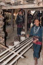Bracelet,Burma,Eng,Necklace,Shan State,Warp Thread