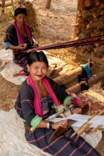 Back Loom,Burma,Palaung,Shan State,Weaving
