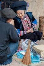 Ha Giang,Market,Selling,Vietnam,Yao