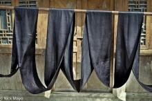 China,Cloth Drying,Guizhou