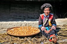 China,Lisu,Sorting,Turban,Yunnan