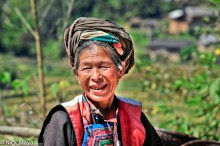 China,Lisu,Turban,Yunnan