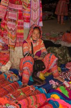 Ha Giang,Market,Miao,Selling,Vietnam
