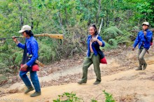 Bag,Burma,Eng,Gun,Hunting,Knife,Shan State