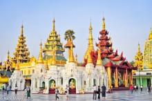 Burma,Rangoon Division,Shrine,Stupa