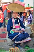 China,Dai,Market,Selling,Yunnan