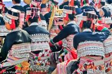 Backpiece,China,Dai,Festival,Hat,Waist Band,Yunnan