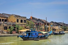 Boat,City,Harbour,Quang Nam,Vietnam