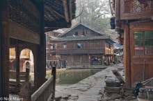 China,Cloth Drying,Guizhou,Pool,Residence