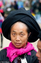 China,Turban,Yao,Yunnan