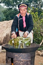 China,Cooking,Hat,Wok,Yao,Yunnan