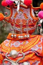 Backpiece,China,Guizhou,Hat,Miao,Wedding