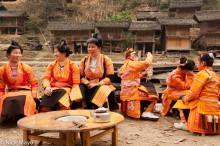 Apron,China,Guizhou,Hair,Miao,Wedding