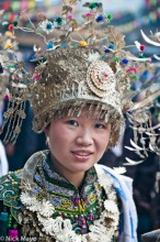 China,Dong,Festival,Guizhou,Headdress