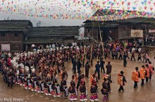Mini Skirted Miao Festival