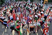 China,Festival,Hair Piece,Hat,Procession,Qinghai,Tibetan