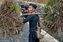 Man With Machete & Fodder