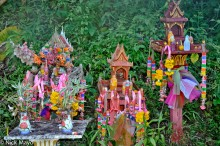 Chiang Mai,Spirit House,Thailand