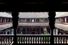 Balcony,China,Courtyard,Residence,Roof,Yunnan