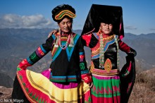 China,Earring,Hat,Yi,Yunnan