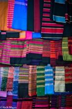 Burma,Cloth,Market,Shan State
