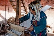 Burma,Foot Treadle Loom,Hani,Shan State,Weaving