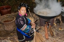 China,Cooking,Guizhou,Miao,Necklace,Wok