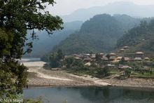 Arunachal Pradesh, Bridge, India, Thatch, Village