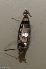 Boat On Siyom River