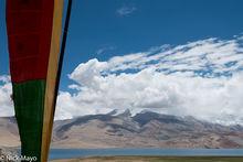 Prayer Flag & Lake Tso Moriri