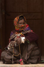 Changtang Woman At The Festival