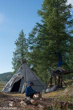 Dukha, Firewood, Khovsgol, Mongolia, Tent