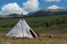 Dukha, Khovsgol, Mongolia, Tent