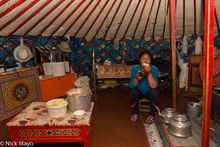 Bread, Darkhad, Eating, Kettle, Khovsgol, Mongolia, Yurt