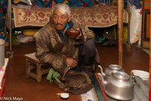 Darkhad, Kettle, Khovsgol, Mongolia, Tea