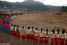 Arunachal Pradesh, Dancing, Festival, Galo, India