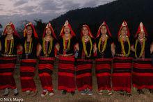 Adi, Arunachal Pradesh, Dancing, Festival, India