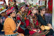 Women At The Harvest Festival