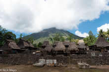 Animist Shrine, Flores, Grave, Indonesia, Roof, Thatch, Village
