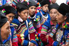Burma, Festival, Lisu, Mandalay Division