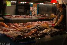 Huaqiao Fish Market Stand