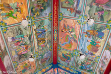 Shizhou Temple Ceiling Paintings