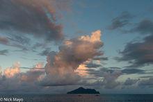 Turtle Island At Sunset