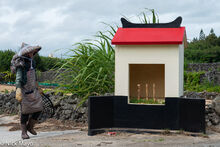 Farmer & Roadside Shrine