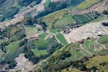 Winter Fields Below Cingjing Farm