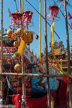 Wangye Boat At Wanfu Temple