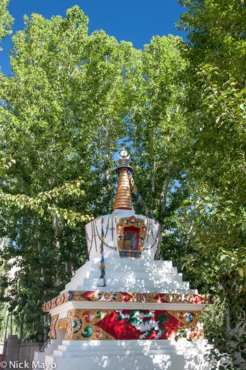 India,Jammu & Kashmir,Stupa, photo