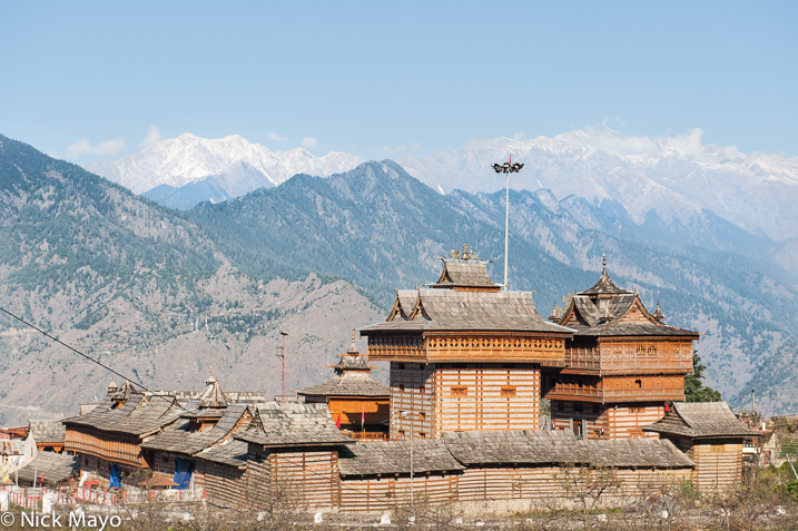 Himachal Pradesh,India,Roof,Temple, photo